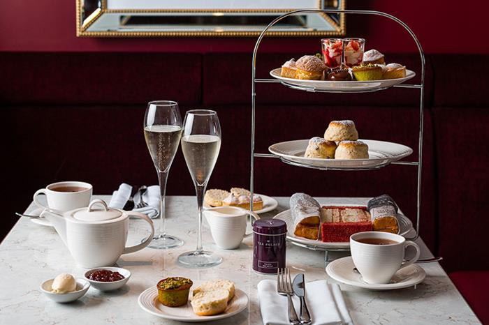Afternoon Tea at Haxells - Strand Palace