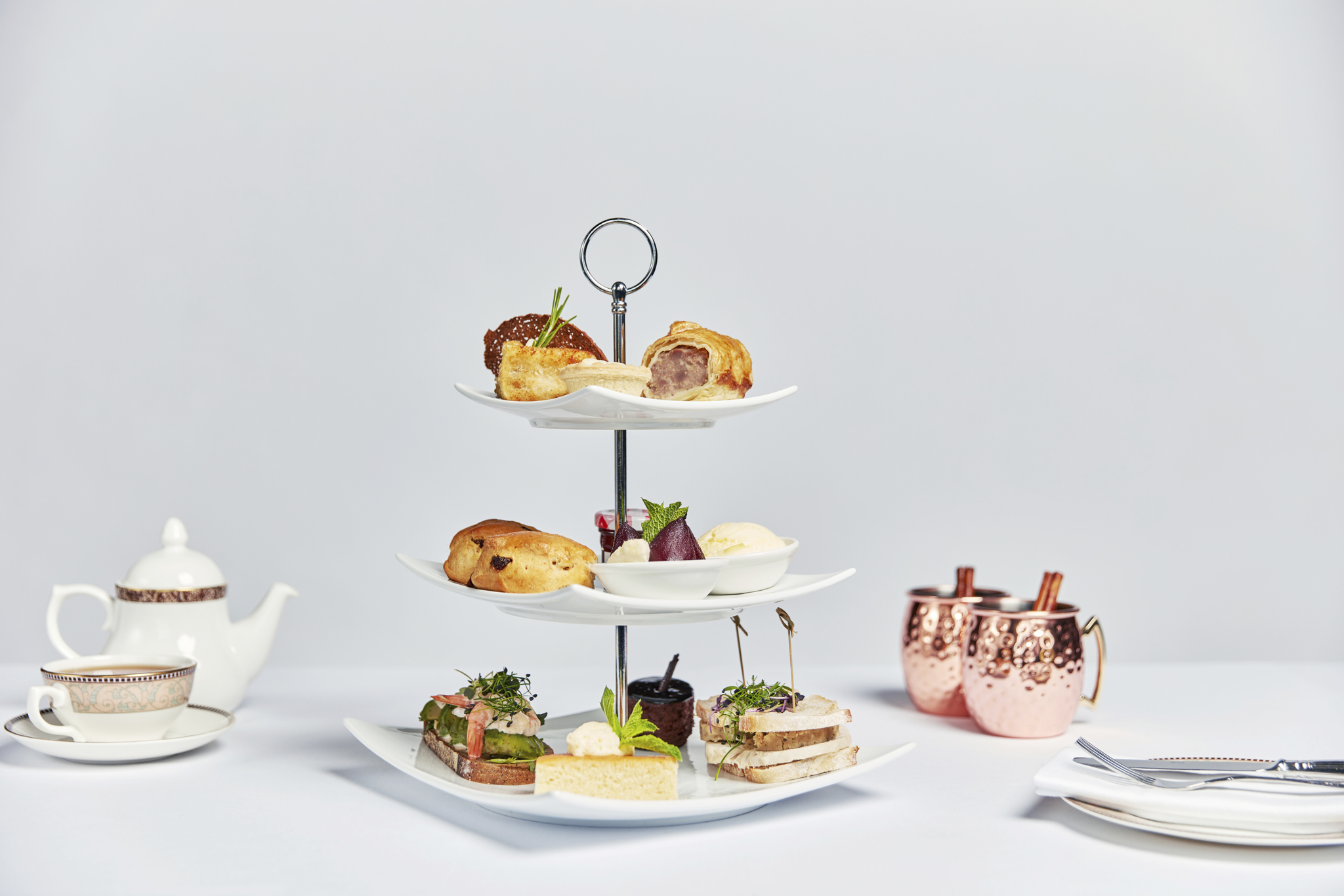 Image of Afternoon Tea at Forest of Arden Marriott Hotel & Country Club