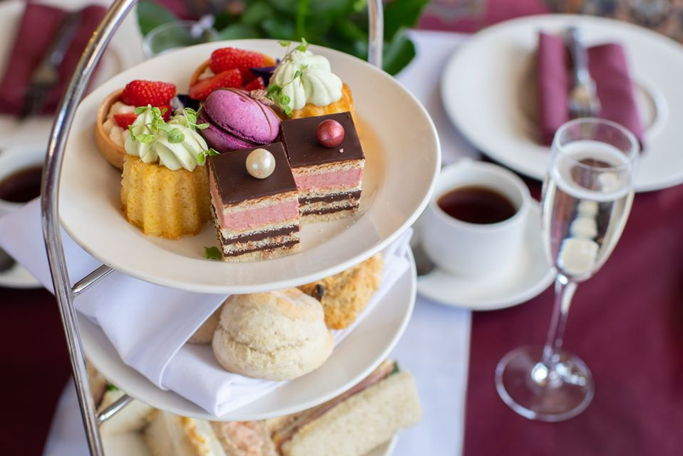 Image of Afternoon Tea at Fanhams Hall - Ware