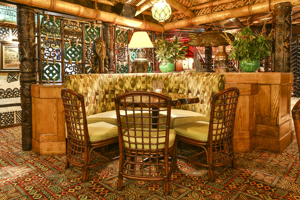 Trader vic 39 s mayfair west end of london london for Best private dining rooms west end london