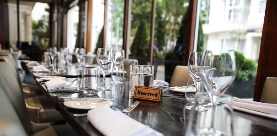 Image of The Terrace Restaurant at Blakemore Hyde Park Hotel