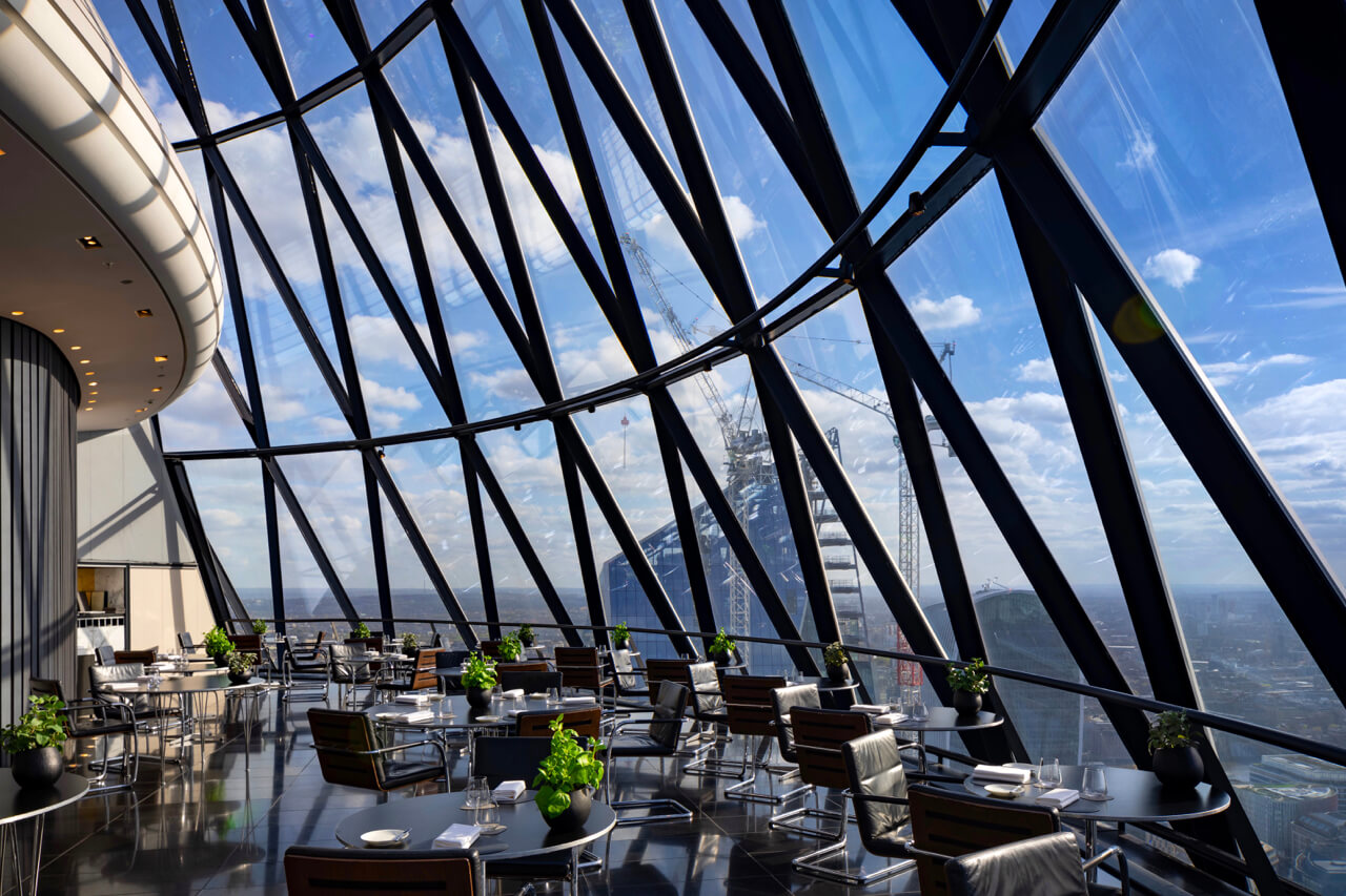 Helix Restaurant at The Gherkin