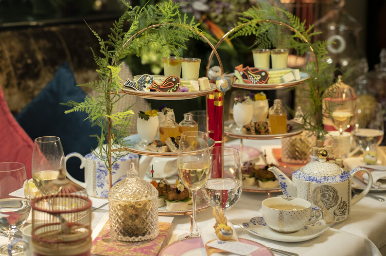 Image of Afternoon Tea and Chinese Whispers at Kai Mayfair