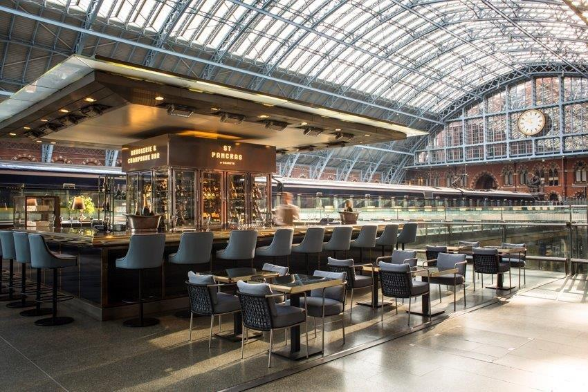 Image of St Pancras Brasserie & Champagne Bar by Searcys