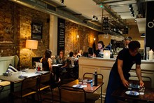 Reserve a table at The Real Greek - St Martins Lane