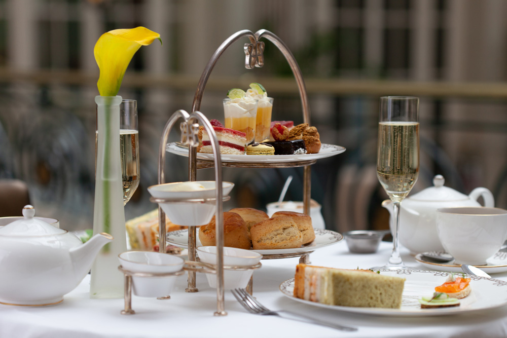 Afternoon Tea at The Waldorf Hilton
