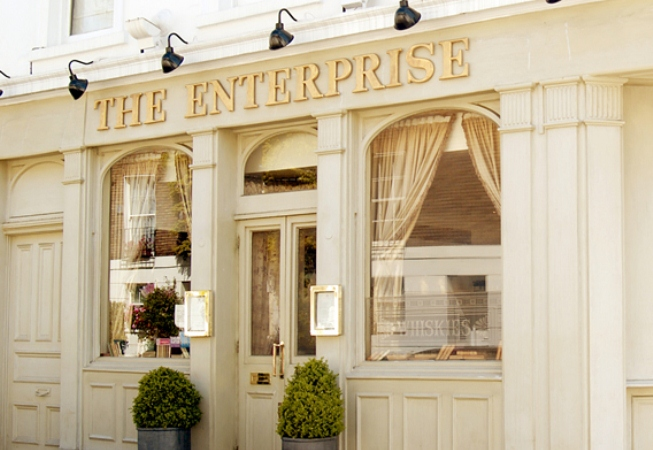 Reserve a table at The Enterprise