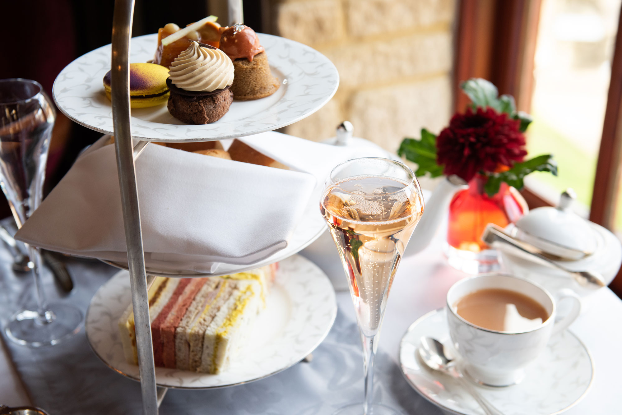 Image of Afternoon tea at Pennyhill Park - Bagshot