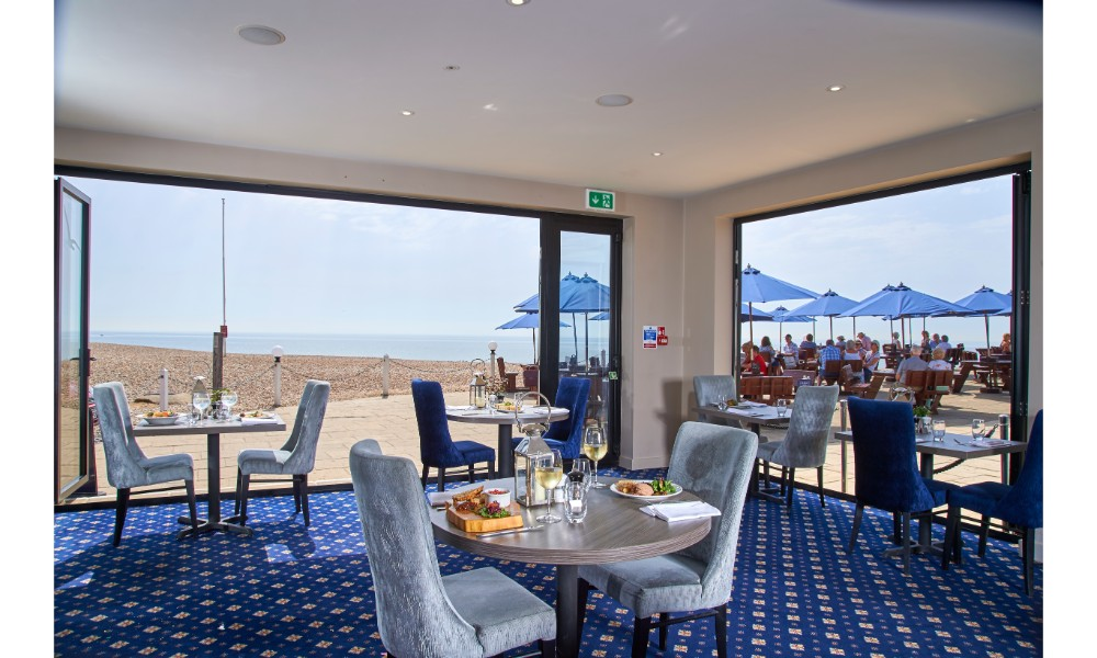 Image of Brasserie On The Beach at The Cooden Beach Hotel