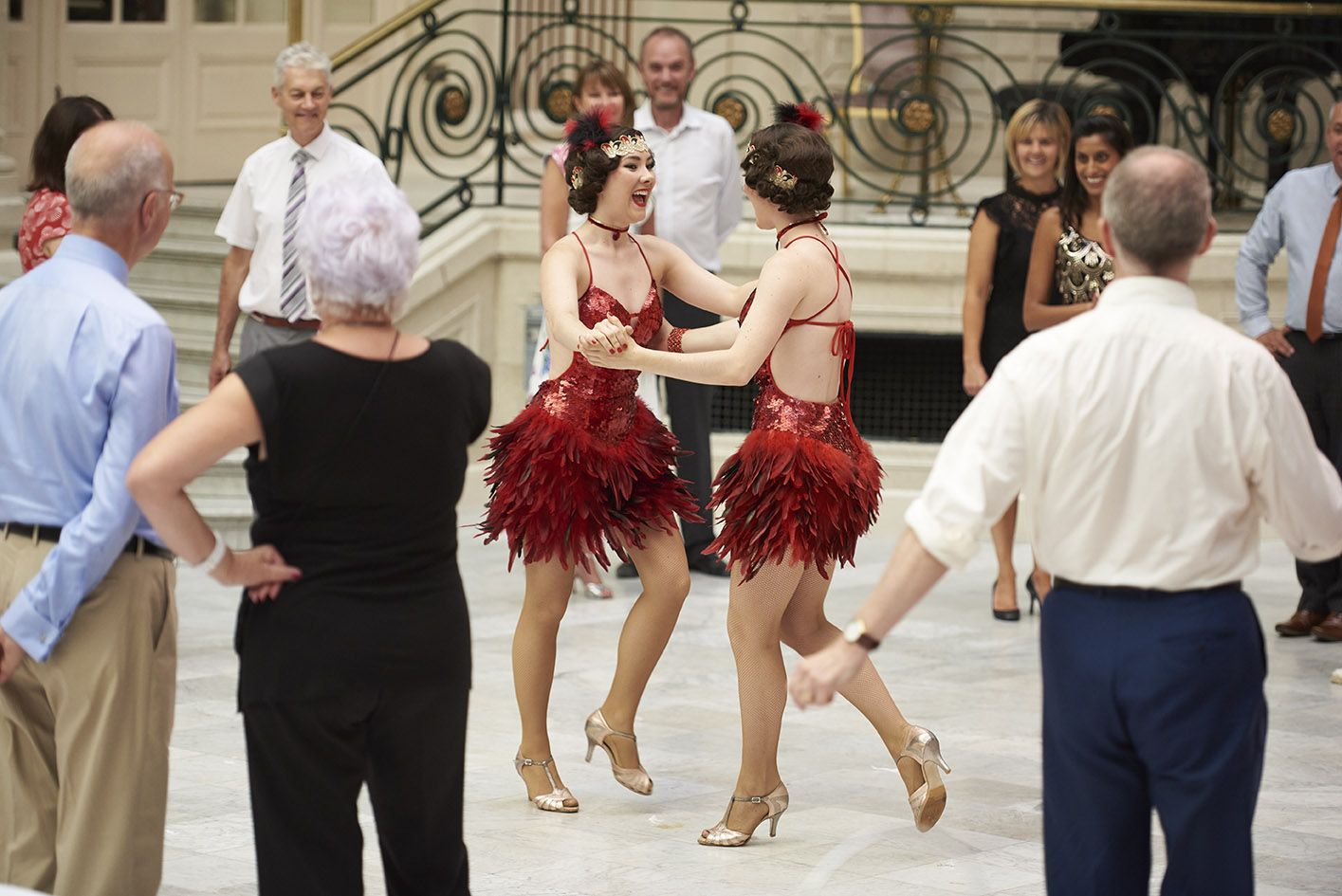 Image of Afternoon Tea Dance at the Palm Court-The Waldorf