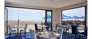 Brasserie On The Beach at The Cooden Beach Hotel