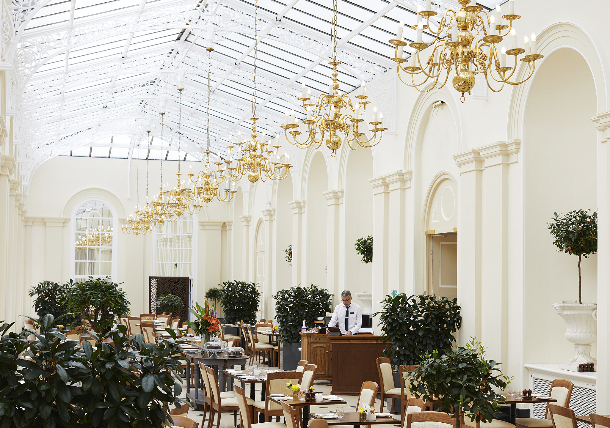 Image of The Orangery at Blenheim Palace