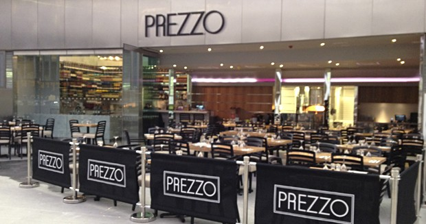 Reserve a table at Prezzo - King's Cross