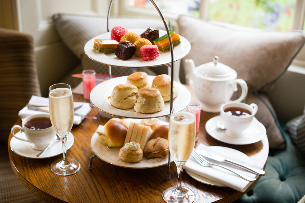 Image of Afternoon Tea at Lainston House - Winchester