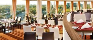 Otto Dine with a view at Sheraton Dusseldorf