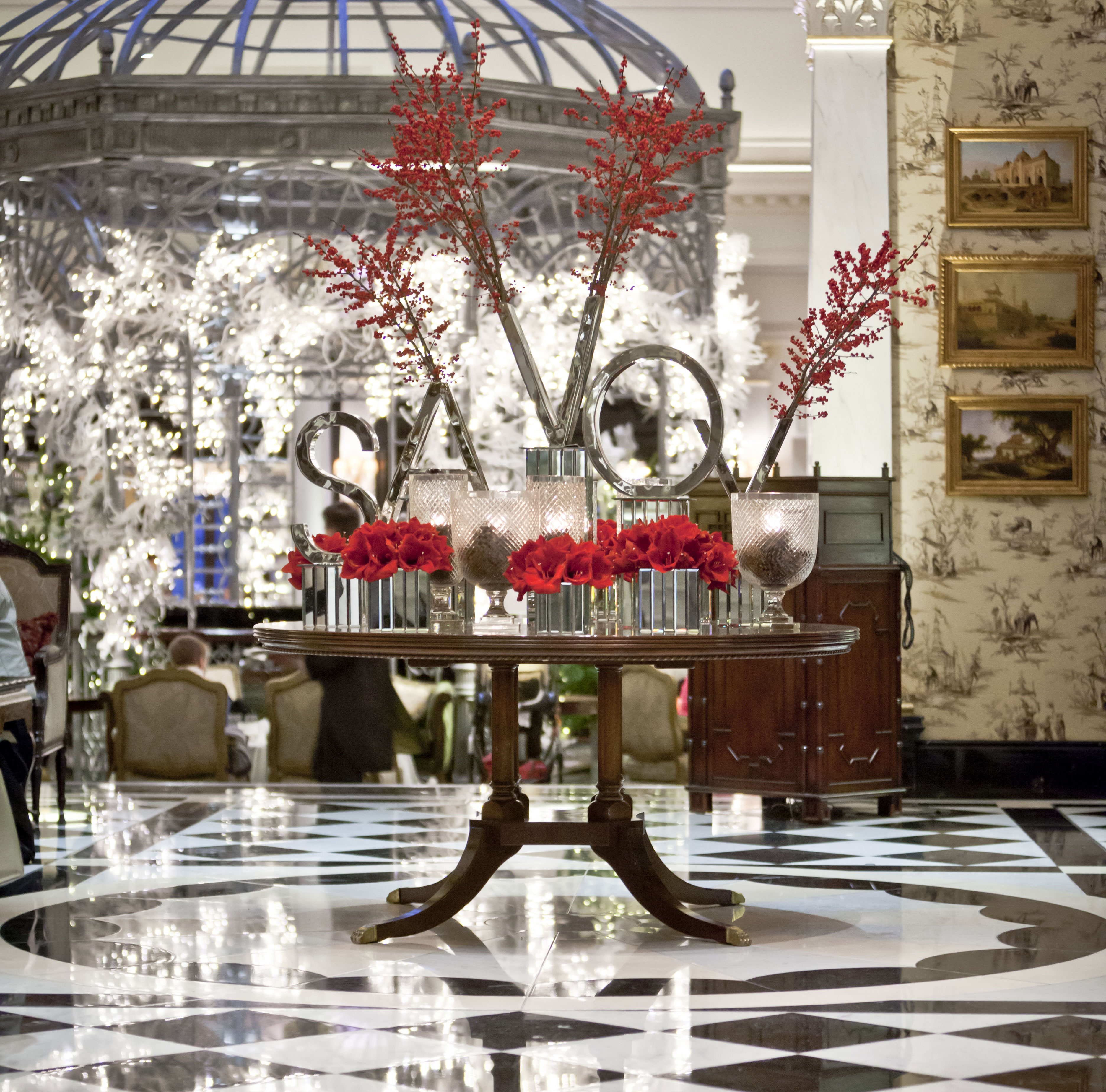 Image of The Savoy Thames Foyer