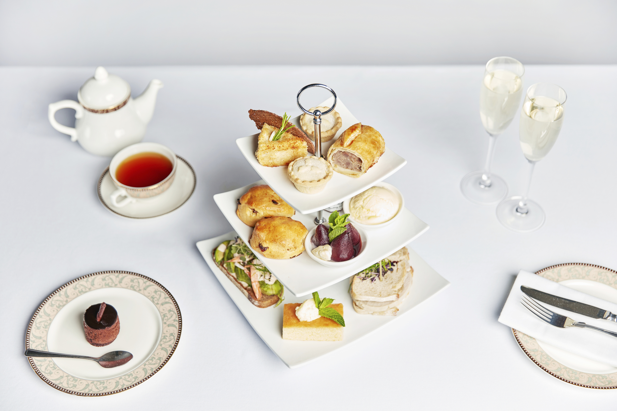 Afternoon Tea at Breadsall Priory Marriott Hotel & Country Club - Derbyshire