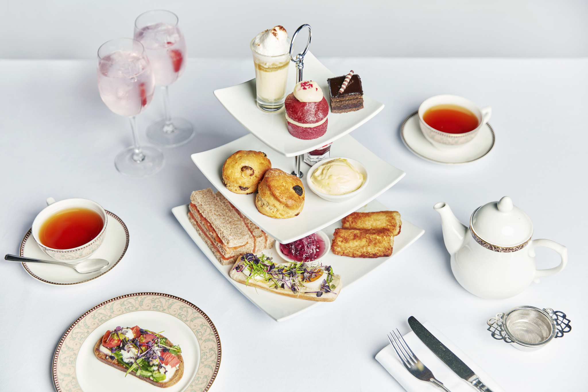 Afternoon Tea at Forest of Arden Marriott Hotel & Country Club - Birmingham