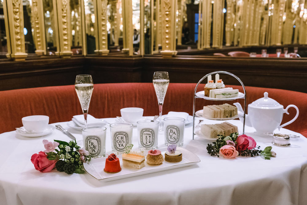 Afternoon Tea at Hotel Café Royal - London