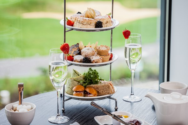 Afternoon Tea at Lakeview Bar - Hampshire