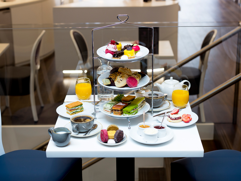 Afternoon Tea at Marvellous by Didier - London