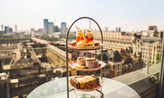 Afternoon tea & a glass of champagne £35 per person