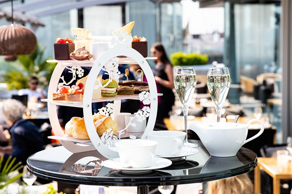 Afternoon Tea at Radio Rooftop - London