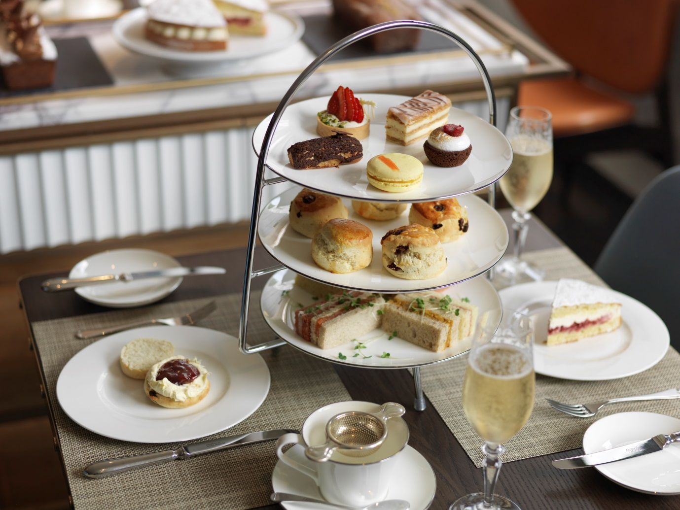 Afternoon Tea at The Athenaeum - London