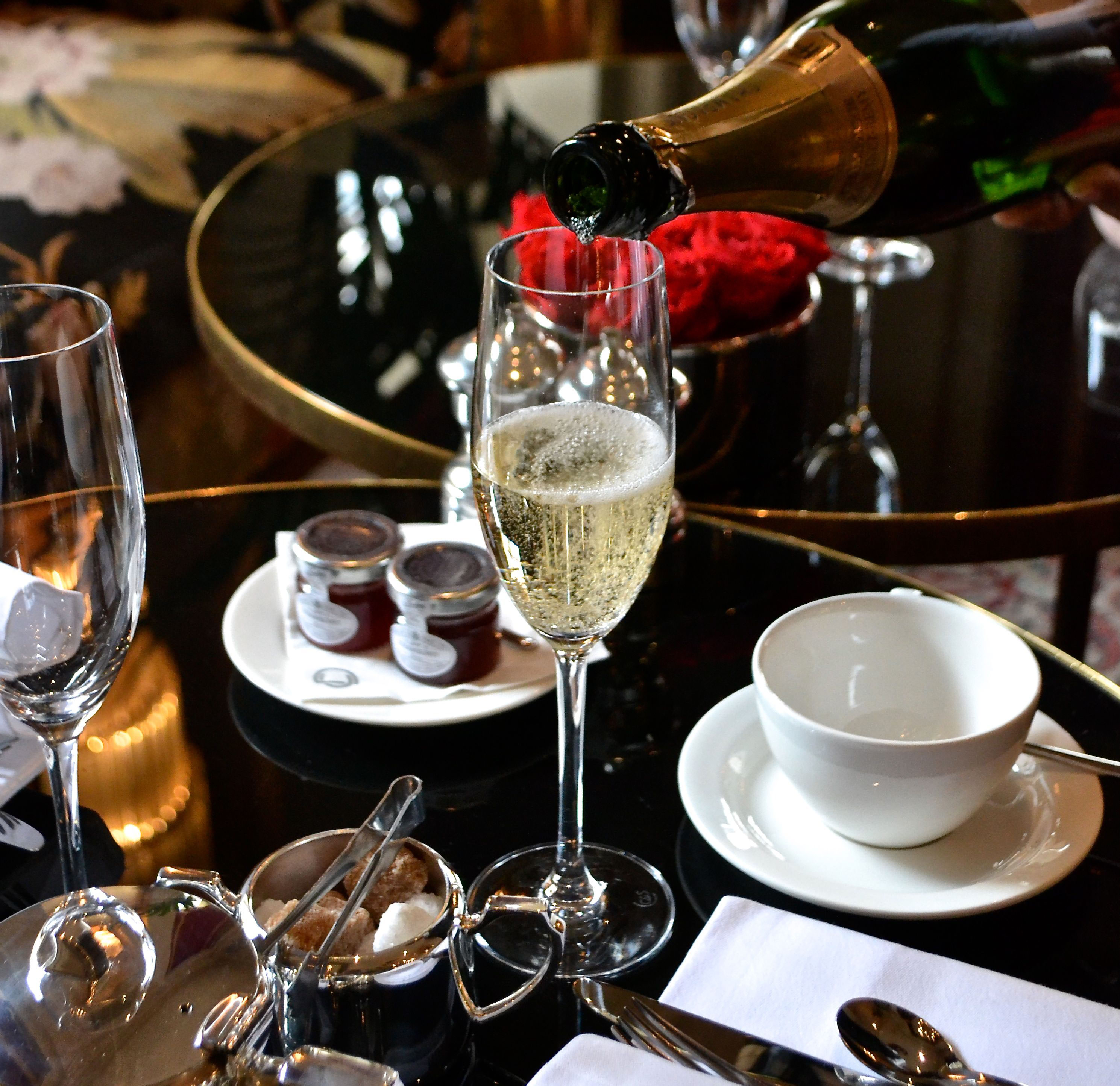Afternoon Tea at The Bloomsbury Hotel - London