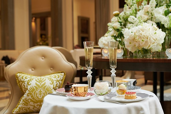 Afternoon Tea at The Crystal Moon Lounge - London
