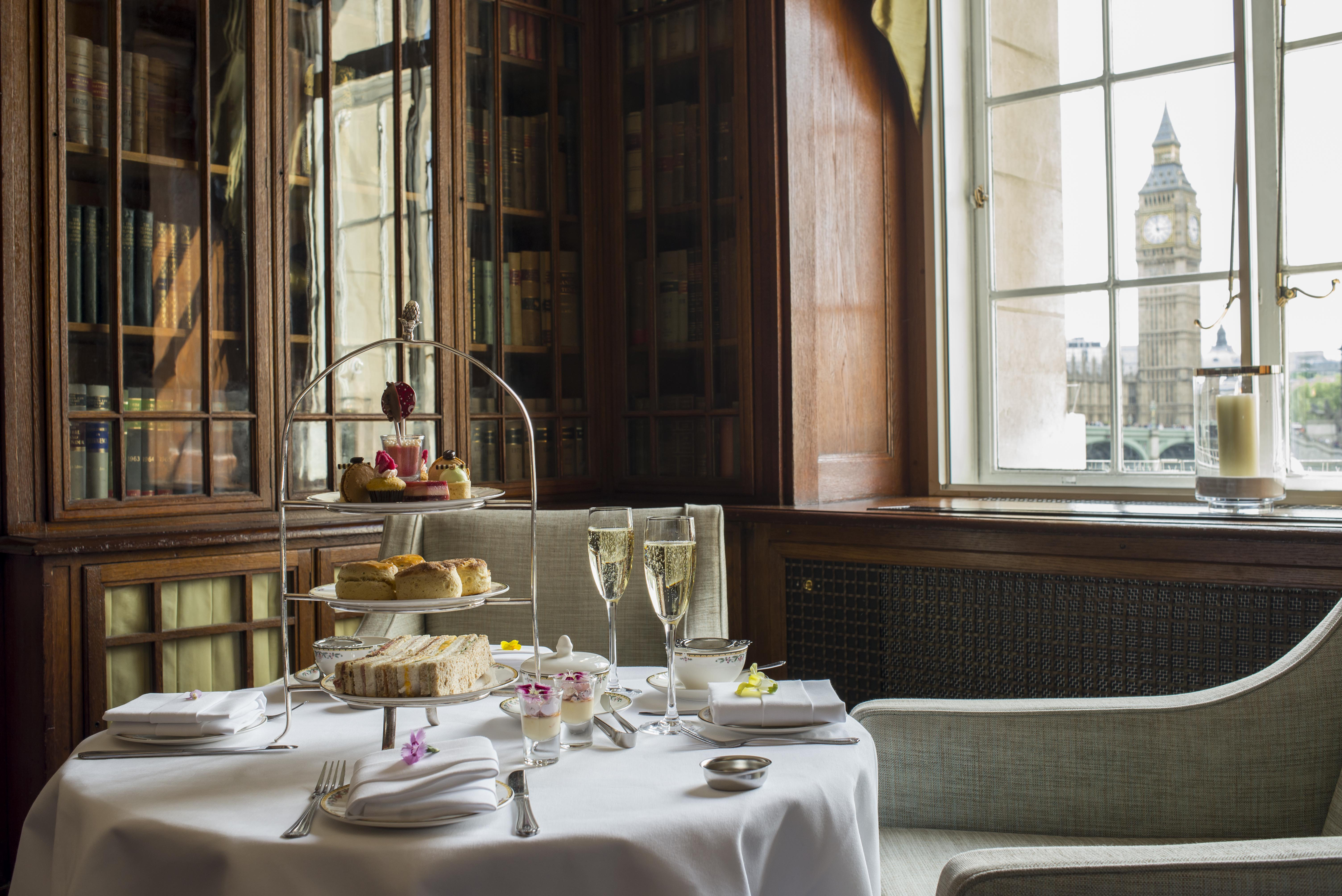 Reserve a table at Afternoon Tea at The Library Lounge