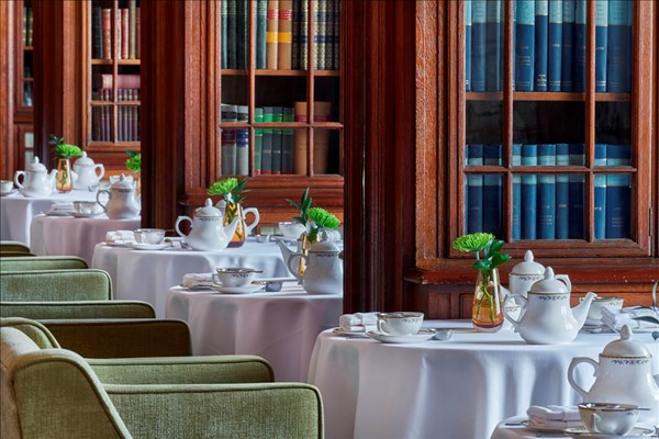 Afternoon Tea at The Library Lounge - London