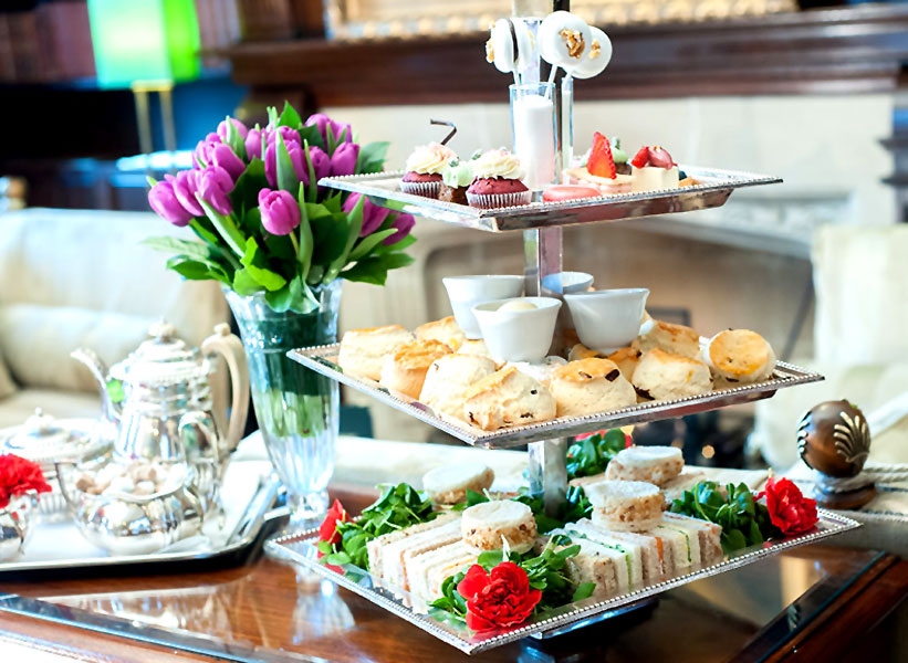 Reserve a table at Afternoon Tea at the Milestone Hotel