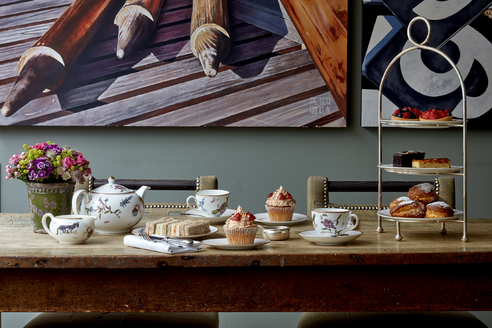 Afternoon Tea at The Potting Shed - London