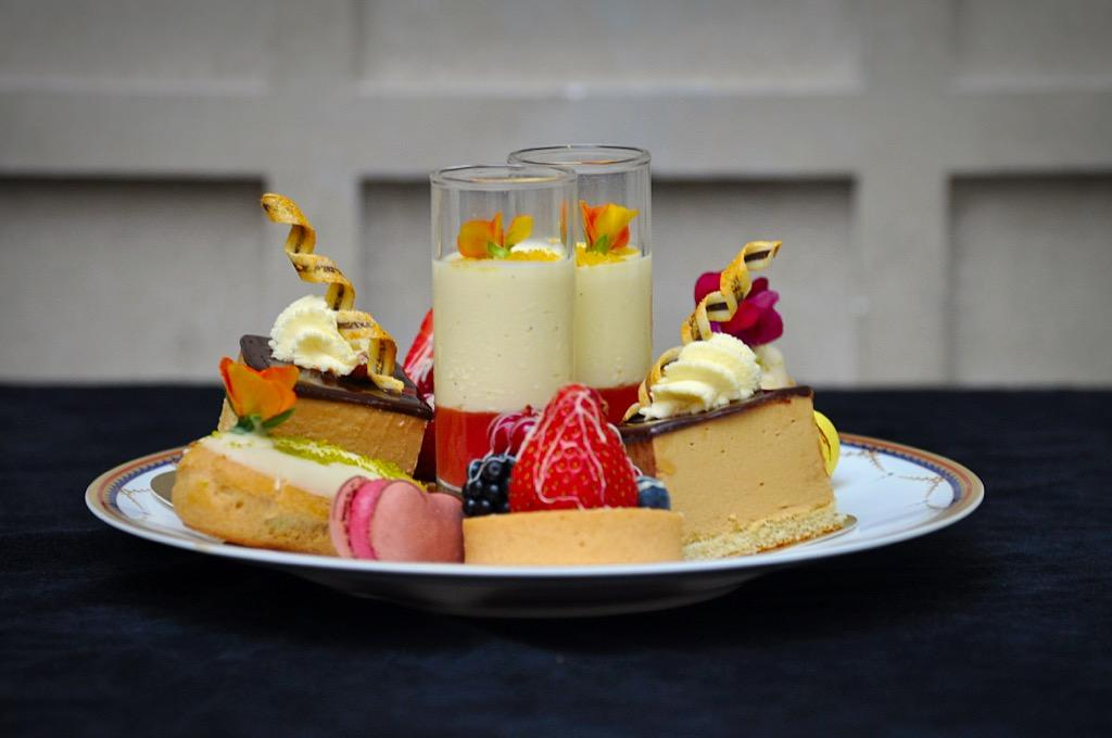 Afternoon tea with unlimited champagne £48 per person