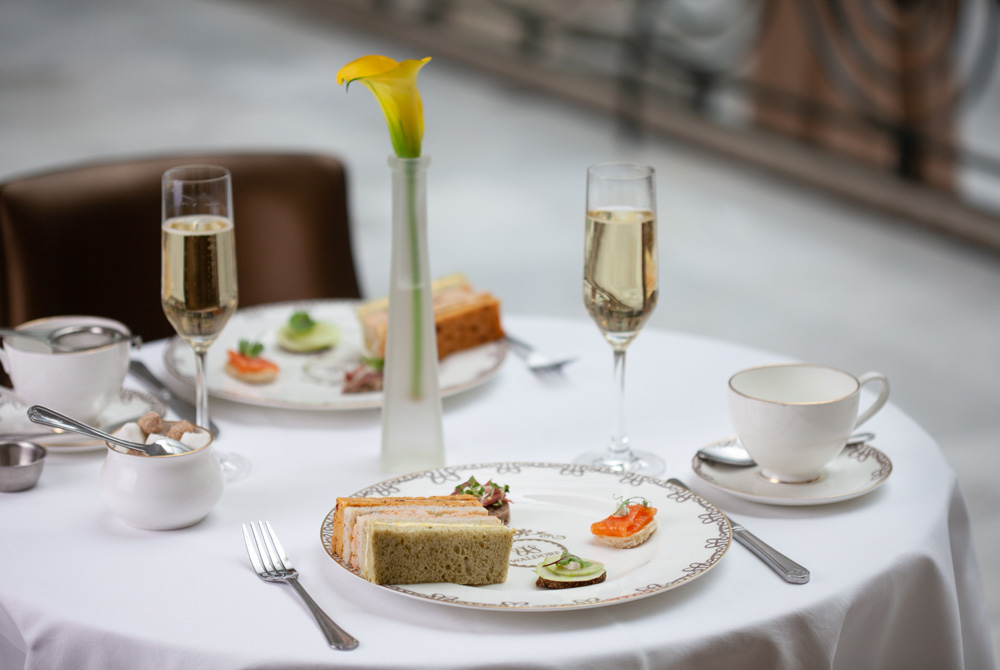 Afternoon Tea at The Waldorf Hilton - London