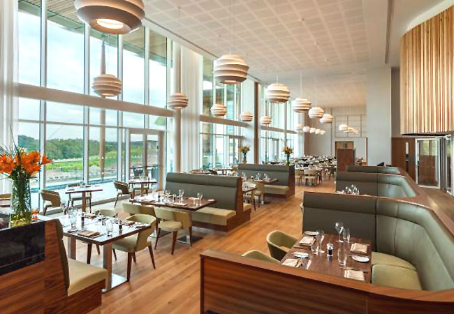Restaurant at Hilton St George's Park - Staffordshire