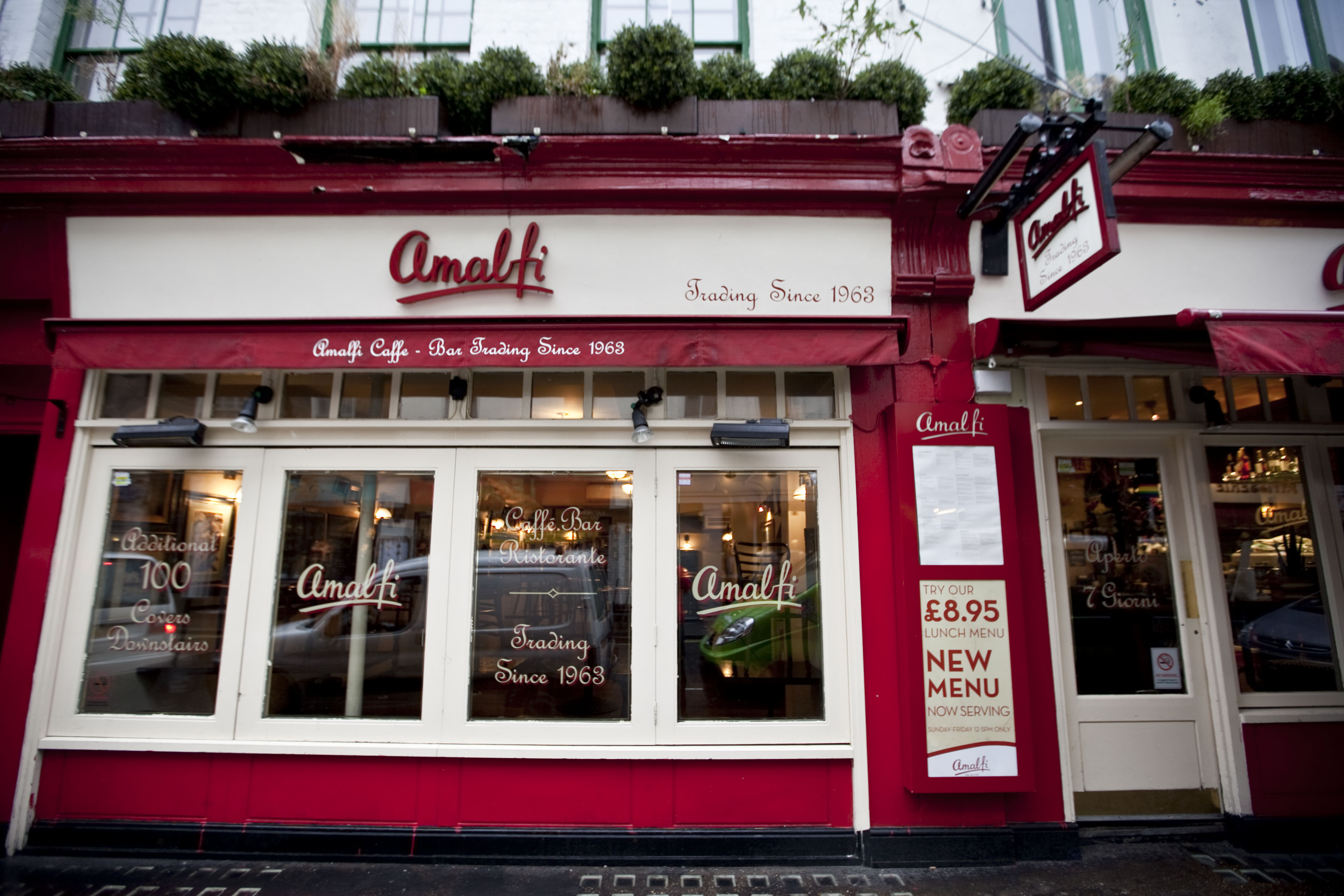 Reserve a table at Amalfi - Old Compton Street