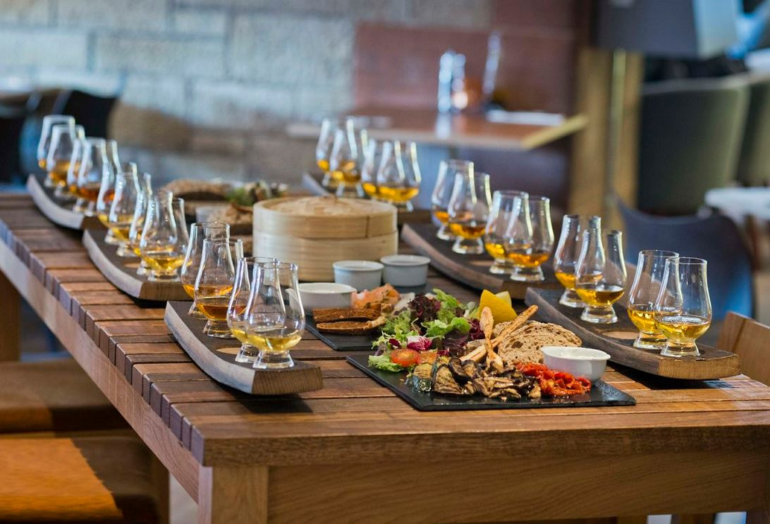 Reserve a table at Amber Restaurant at The Scotch Whisky Experience