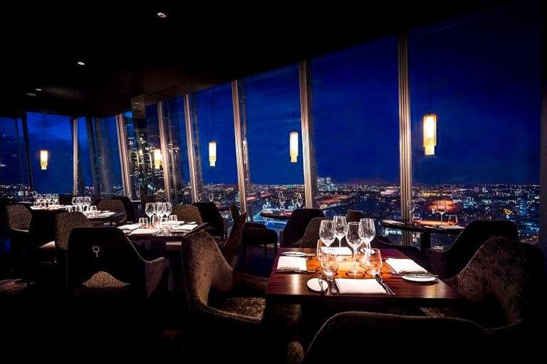 Aqua Shard London Bookatable