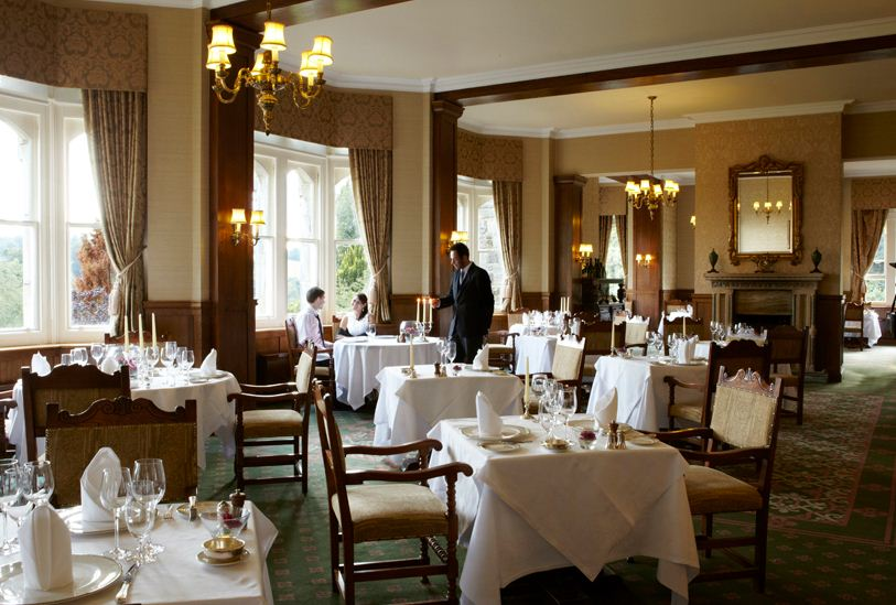 Anderida Restaurant at Ashdown Park Hotel & Country Club - East Sussex