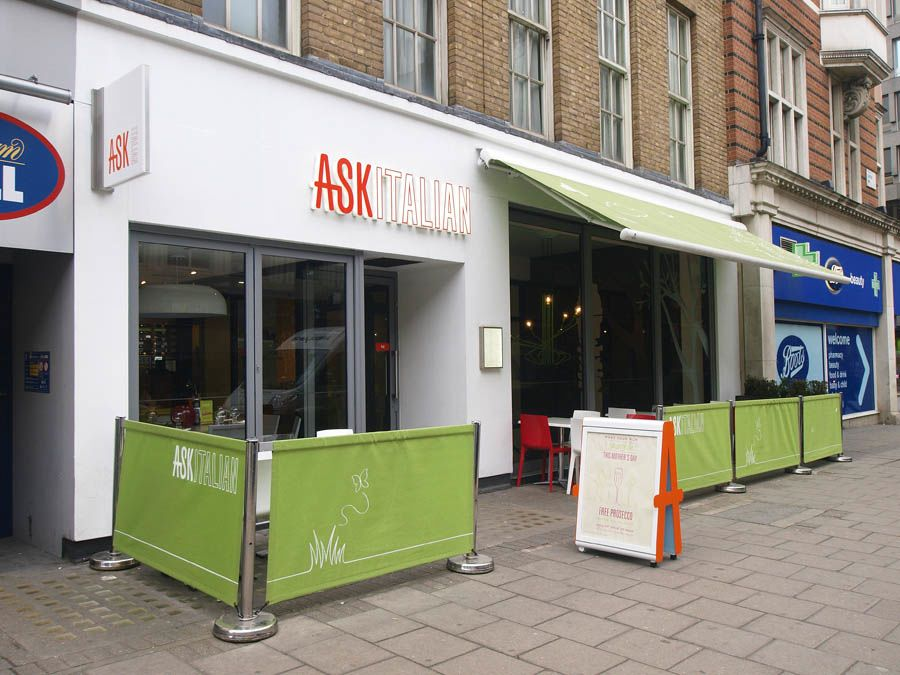 ASK Italian - Grafton Way - London