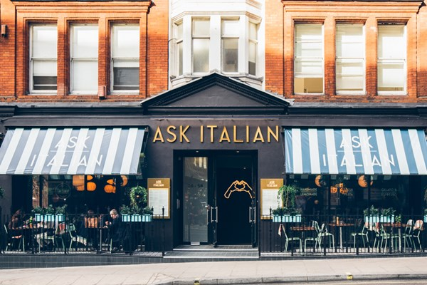 ASK Italian - Wigmore Street - London