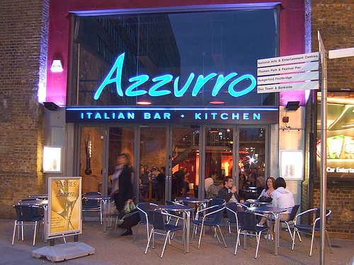 Azzurro - Waterloo - London
