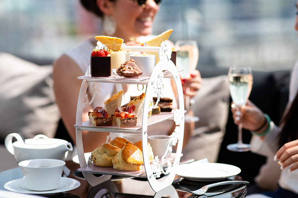Afternoon Tea at Radio Rooftop