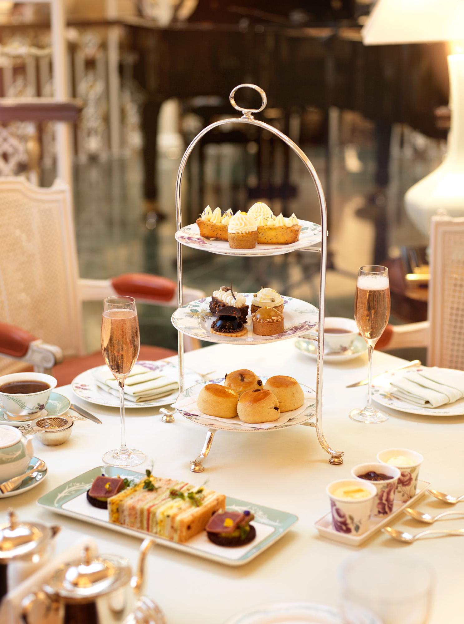 Afternoon Tea at The Savoy