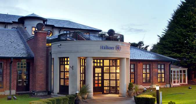 Balharries Restaurant at Hilton Puckrup - Gloucestershire