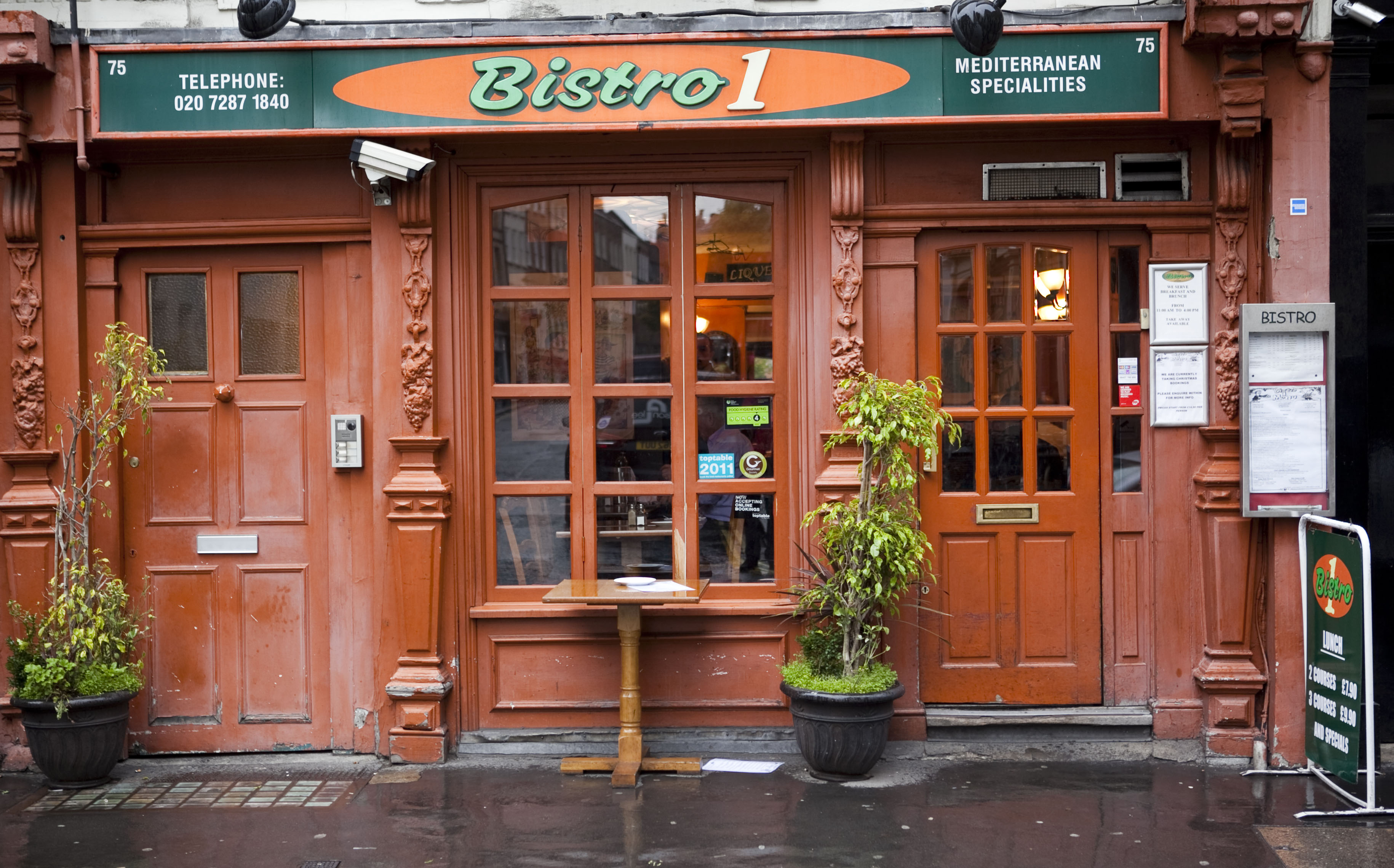 Reserve a table at Bistro 1 - Beak Street