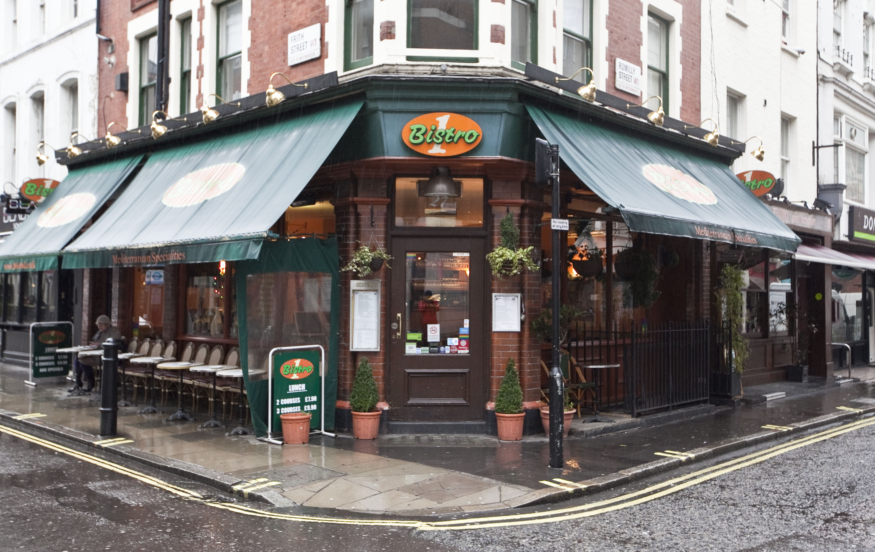 Reserve a table at Bistro 1 - Frith Street