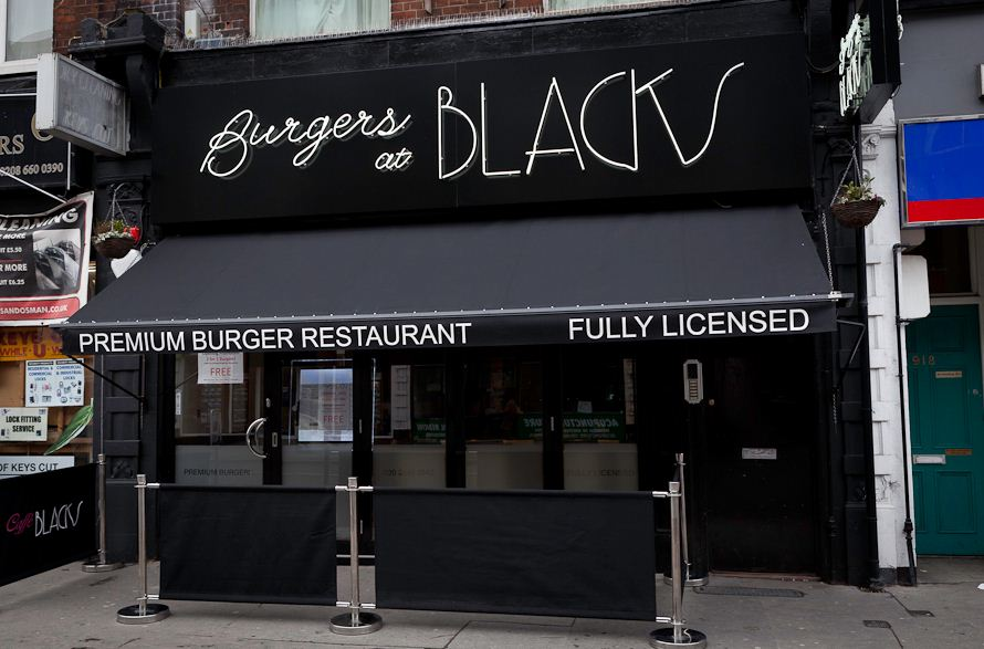 Blacks Burgers - Greater London